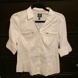 Express The Essential White button down